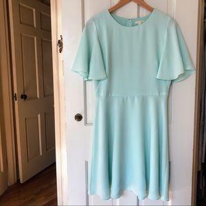 Shoshanna Flutter Sleeve Dress